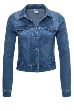 Women's denim jacketby Vero Moda Slim fit Button closure Two front pockets Buttons with logo imprint Us