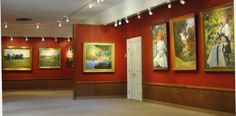 An exhibition and auction of the work of Kate Freeman Clark, at the gallery established by the artist. Ms. Freeman studied at the League under William Merritt Chase.