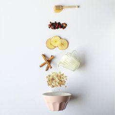 #breakfast #ingredients #composition #flatlay @floraldilemma