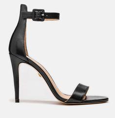 Sandały damskie czarne 43093-01-00 z kolekcji 2020 - sklep internetowy Kazar Stuart Weitzman, Heels, Fashion, Moda, La Mode, Shoes High Heels, Fasion, Fashion Models, Heel