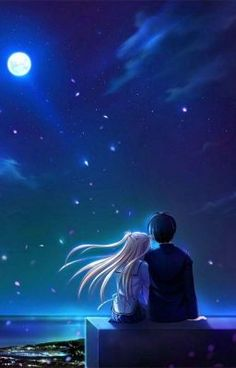 Read Wallpaper from the story Anime Pictures by (Hyo) with 954 reads. Love Cartoon Couple, Cute Couple Art, Cute Love Cartoons, Anime Love Couple, Cute Anime Couples, Anime Couples Hugging, Kunst Online, Online Art, Cute Couple Wallpaper