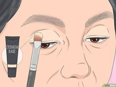 How to Apply Eye Makeup (for Women Over Once you reach the age of your skincare needs change. Mature skin tends to be dry, and fine lines and wrinkles may make it seem difficult to apply flawless makeup, especially around the. Makeup For 50 Year Old, Makeup Tips For Older Women, Makeup Over 50, Applying Eye Makeup, How To Apply Makeup, Dark Eyeshadow, Eyeshadow Brushes, Flawless Makeup, Beauty Makeup