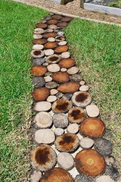 How To Create A Natural Log Pathway + Video
