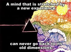 New dimensions of experience.