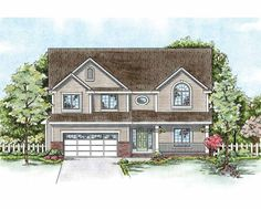 Eplans Traditional House Plan - A Premium Design Presented by Home Planners - 2671 Square Feet and 4 Bedrooms from Eplans - House Plan Code HWEPL75382