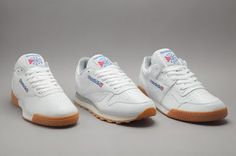 EffortlesslyFly.com - Kicks x Clothes x Photos x FLY Sh*t: Reebok Adds a Gum Sole to 3 Classic Silhouettes*~