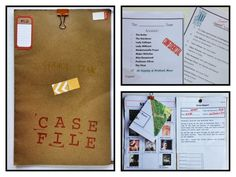Kids mystery birthday party Case File