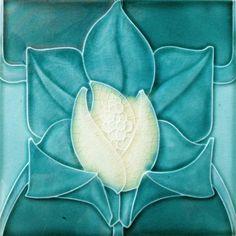 My tile collection Archives - Art Nouveau Tiles Vintage Tile, Vintage Pottery, Pottery Art, Art Nouveau Tiles, Art Nouveau Design, Fleurs Art Nouveau, Azulejos Art Nouveau, William Morris Art, Art Nouveau Pattern