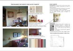 Dossier para Salón-Comedor. Proyectos de Decoración on line