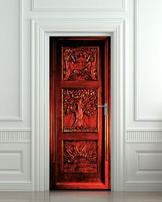 Door STICKER Narnia wardrobe Gateway to another world by Wallnit, $44.99