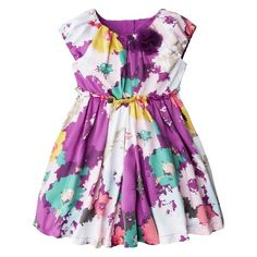 Flower girl dress- something fun and adorable.