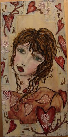 Diane Salter - I love the colors and her eyes.