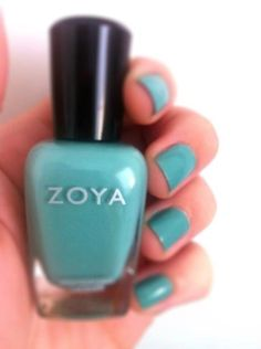 Zoya Nail Polish in Wednesday shared via Twitter