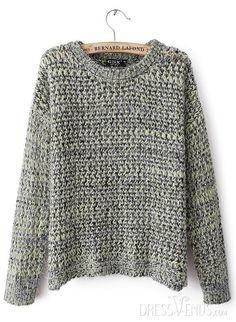 76c2a072 US$28.99 Classy Europe Style Long Sleeves Woolen Yarn New Arrival Sweater.  #Knitwear #