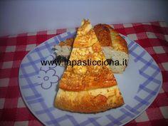 Torta salata con funghi e prosciutto crudo