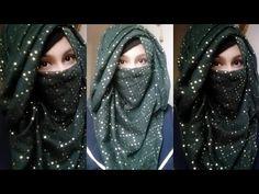 Niqab Fashion, Muslim Fashion, Hijab Turban Style, Muslim Wedding Dresses, Dress Wedding, Wedding Bride, How To Wear Hijab, Simple Hijab, Hijab Style Tutorial