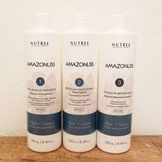 🤔 Amazonliss Smoothing Treatment Kit. WHAT ARE THE RESULTS? ✅Absolute smoothness of hair and extreme brightness ✅Deep moisture and nutrition ✅Thermal hair protection ✅Maximum result up to 4 months ✅Suitable for all hair types ✅Natural ingredients ✅Fast, easy and safe application - straighten even African American hair ✅You can wash your hair with a non-sulphatic shampoo the same day - no need to wait 🔍 Learn more on www.nutreecosmetics.com#nutreecosmetics #nutreeprofessional #keratin…