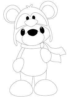 Bear in Penguin Hat