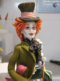 Johnny Depp Mad Hatter  Cake by Mother and Me Creative Cakes