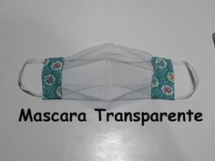 Mascara Transparente exclusivo - YouTube Youtube, Medical, Sewing, See Through, Diy Bags, Diy Home, Knitting And Crocheting, Scrappy Quilts, Fabric Sewing