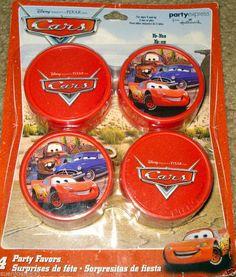 Disney Cars YoYos 4ct Party Supply Favors #DisneyCars #Any