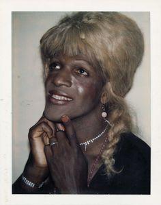 """Ladies and Gentlemen"" Marsha Johnson | Andy Warhol"