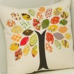 tree pillow. love this!!