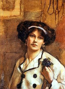 Norah Neilson Gray (Scot 1882-1931) Self-portrait 1918