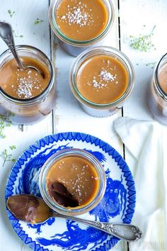 No Bake Desserts, Dessert Recipes, Caramel Pudding, Feel Good Food, Happy Foods, Sweet Recipes, Food And Drink, Sweets, Chocolate