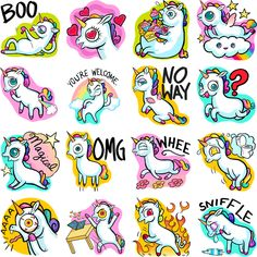 I wish we had these as stickers on hangouts!