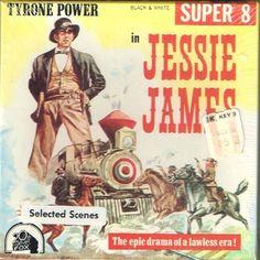 Vintage Western-Jessie James- Super Western- 5 inch reel- Film New Sealed-Jessie James, Tyrone Power, Henry Fonda, Nancy Kelly Super 8 Film, Vintage Films, Film Stock, 8mm Film, Tyrone Power, Henry Fonda, Jessie James, Best Movie Posters, Western Movies
