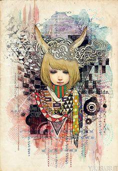 Inspiring Illustrations by Yuko Rabbit