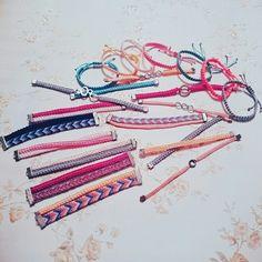 #friendship #bracelets #diy #handmade #hobby