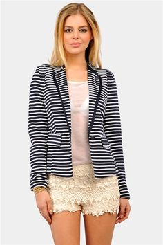 Anker One Blazer - Navy