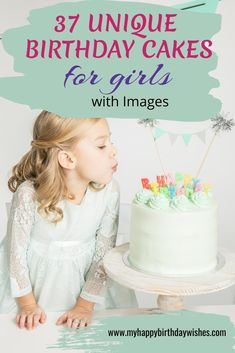 Are you searching for the perfect birthday cake idea for your daughter? You're in luck! Here you'll find 37 unique birthday cakes for girls with images. These cute birthday cakes are perfect for kids of all ages. Check them out!