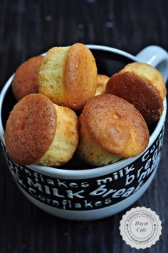 How to Make a Muffin? Who does not like a bite, soft, delicious, easy, plain muffin cake :]] My hous Pudding Desserts, Pudding Cake, Mini Desserts, Muffin Recipes, Cake Recipes, Cake Cookies, Cupcake Cakes, Honey Dessert, Gateaux Vegan
