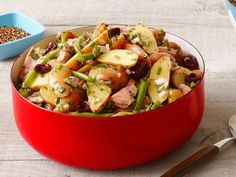 Potato Salad : Mix 1 cup chopped mixed parsley, chives and tarragon ...