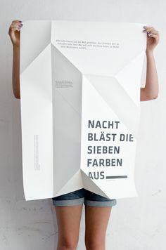 Night poster by Sieglinde Fischer