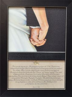Bonnie Mohr's I Do Framed Print - Small @ Kruenpeeper Creek Country Gifts
