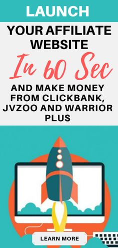 Launch your income generation affiliate website in few minutes and earn commissions from ClickBank, JVZoo and Warrior Plus Business Advice, Online Business, Single Words, Multi Level Marketing, Affiliate Marketing, Facebook Marketing, Digital Marketing, Helping People, How To Make Money