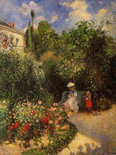 Cristiane falando de livros, filmes, músicas, poesias, reflexões e muito mais...: As obras de Jacob Camille Pissarro