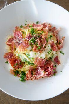Spaghetti met asperges