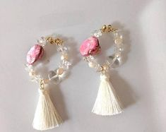 Be mine treasures handmade jewelries by BemineTreasures Handmade Jewelry, Unique Jewelry, Handmade Gifts, One More Step, Create Yourself, Etsy Seller, Drop Earrings, Trending Outfits, Search