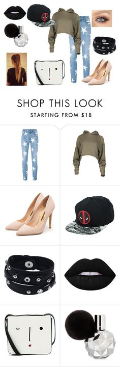 """Layed back with a heel"" by lia-fashion on Polyvore featuring STELLA McCARTNEY, Rupert Sanderson, Vance Co., Lime Crime and Lulu Guinness"