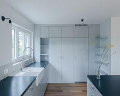 Swiss Fermetures | Vehicle Manager | Les fenêtres | Les fenêtres PVC | Decor, Furniture, Room, Interior, Pvc, Kitchen Cabinets, Interior Architecture, Home Decor, Room Divider