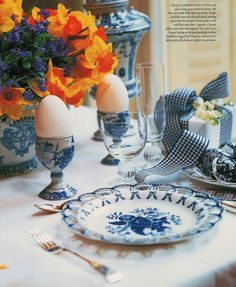 Blue And White Brunch !
