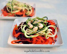 Detox Rainbow Salad. A super healthy salad that will make you feel amazing.