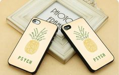 Psych pineapple quote  FIT for iP4iP5 Samsung by CasebyMarsha, $14.00