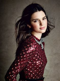 Kendall Jenner by Patrick Demarchelier  for VOGUE magazine. Nov 2014