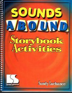 Sounds Abound Storybook Activities By Sandy Lachance Phonemic Awareness Activities, Phonological Awareness, Short Vowel Sounds, Short Vowels, Syllable, Letter Sounds, Book Activities, Childrens Books, Preschool